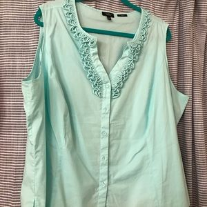 Woman's Talbots blouse